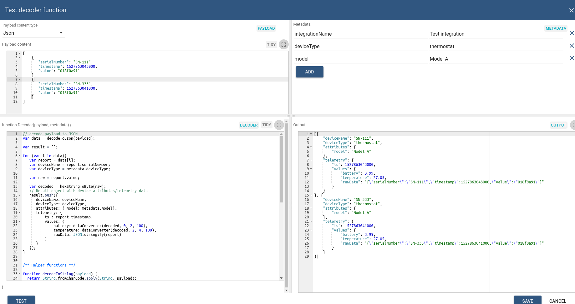 Platform Integrations | ThingsBoard